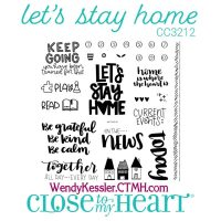 Stay at Home stamp set