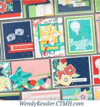 Blue Skies Cardmaking Kit
