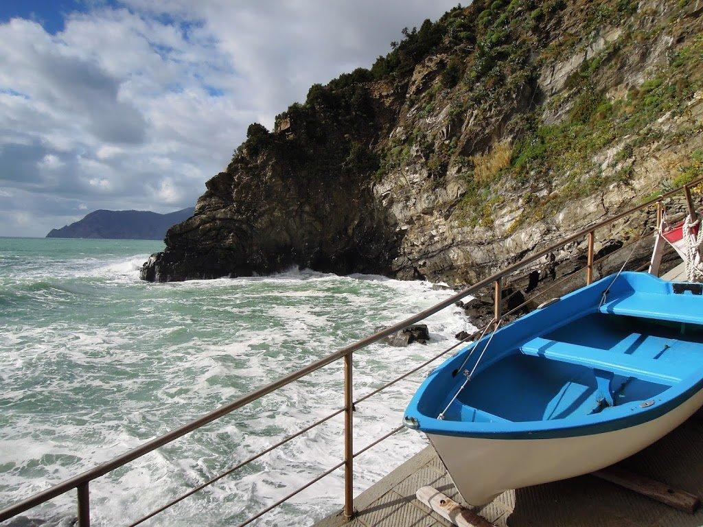 La piccola marina di Corniglia