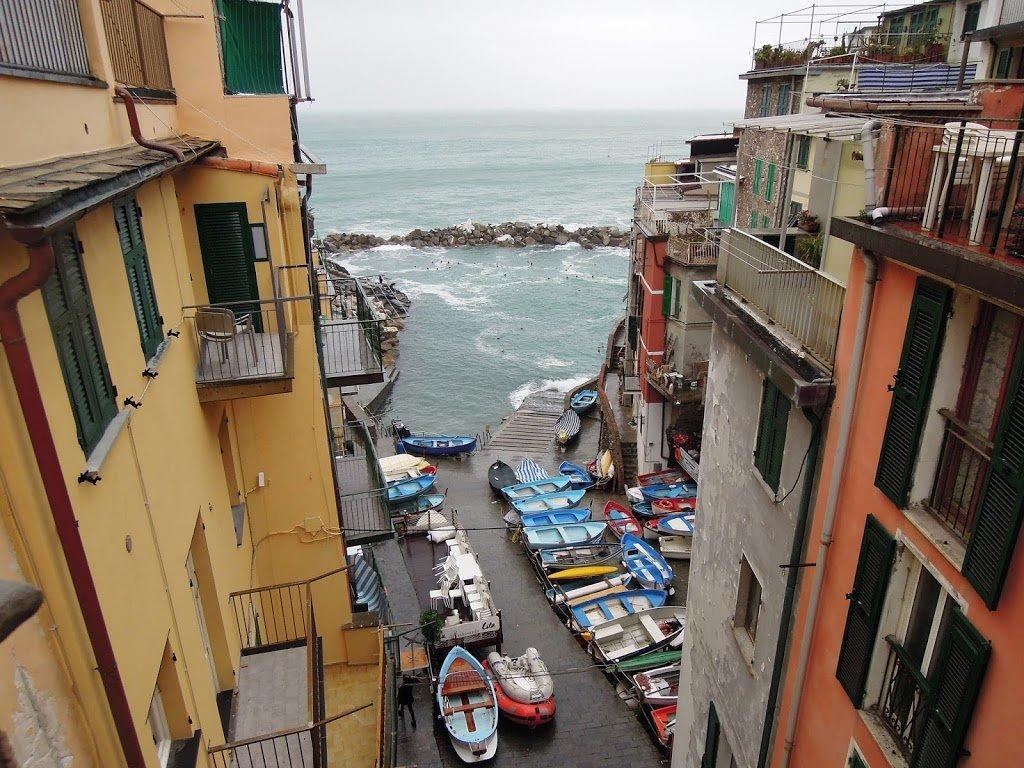 Il borgo di Riomaggiore