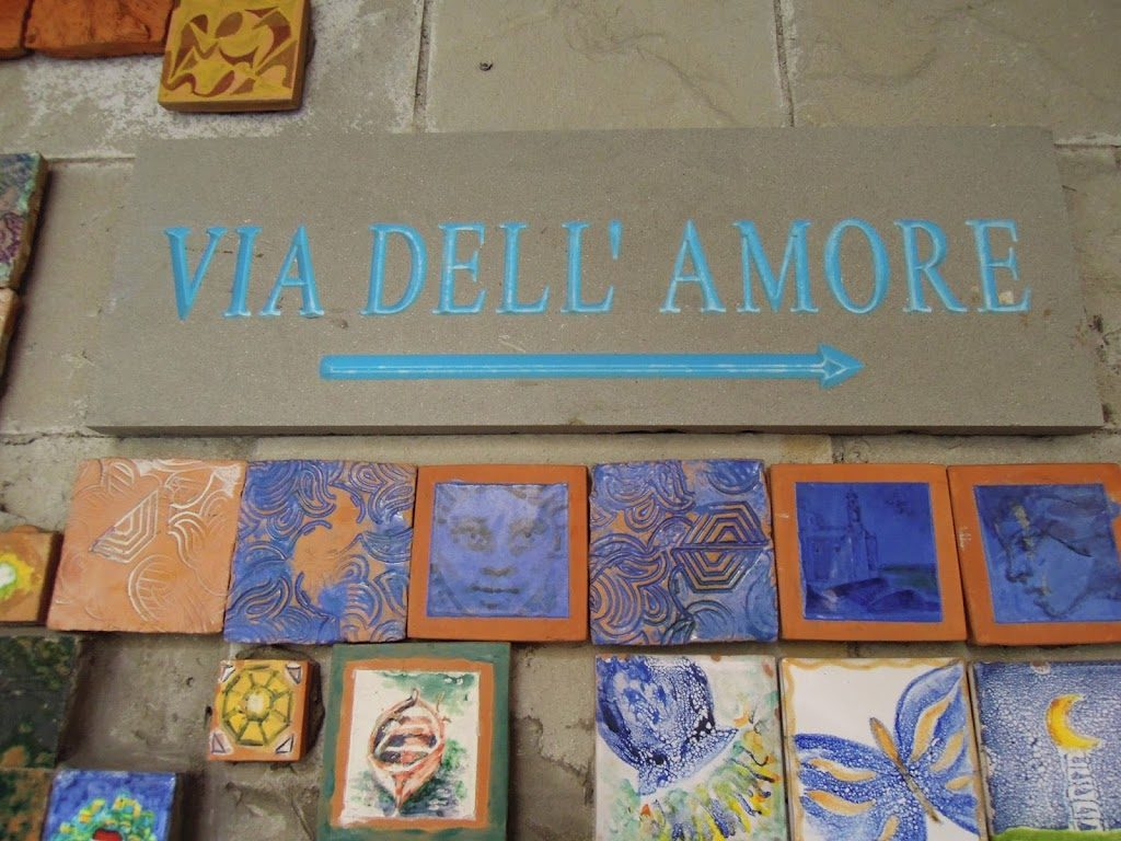 Via dell'amore my scratch map