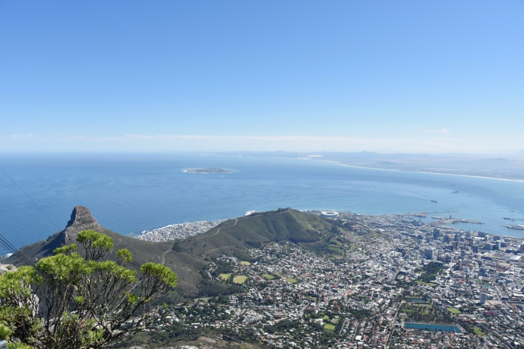 Panorama dalla Table Mountain Cable Car