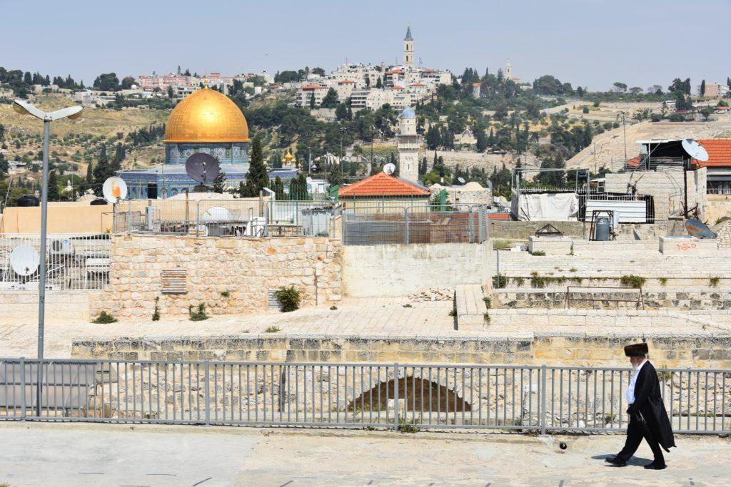 Camminando sui tetti di Gerusalemme