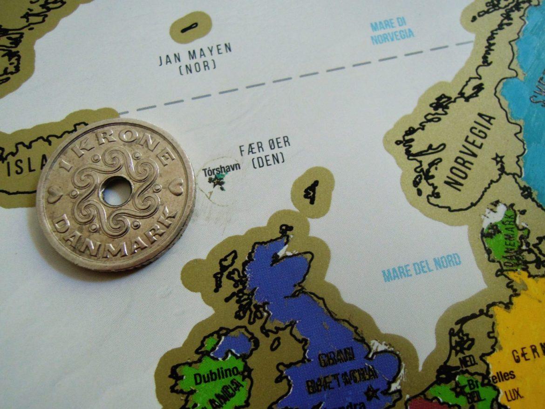 Mappa viaggio alle Faroe