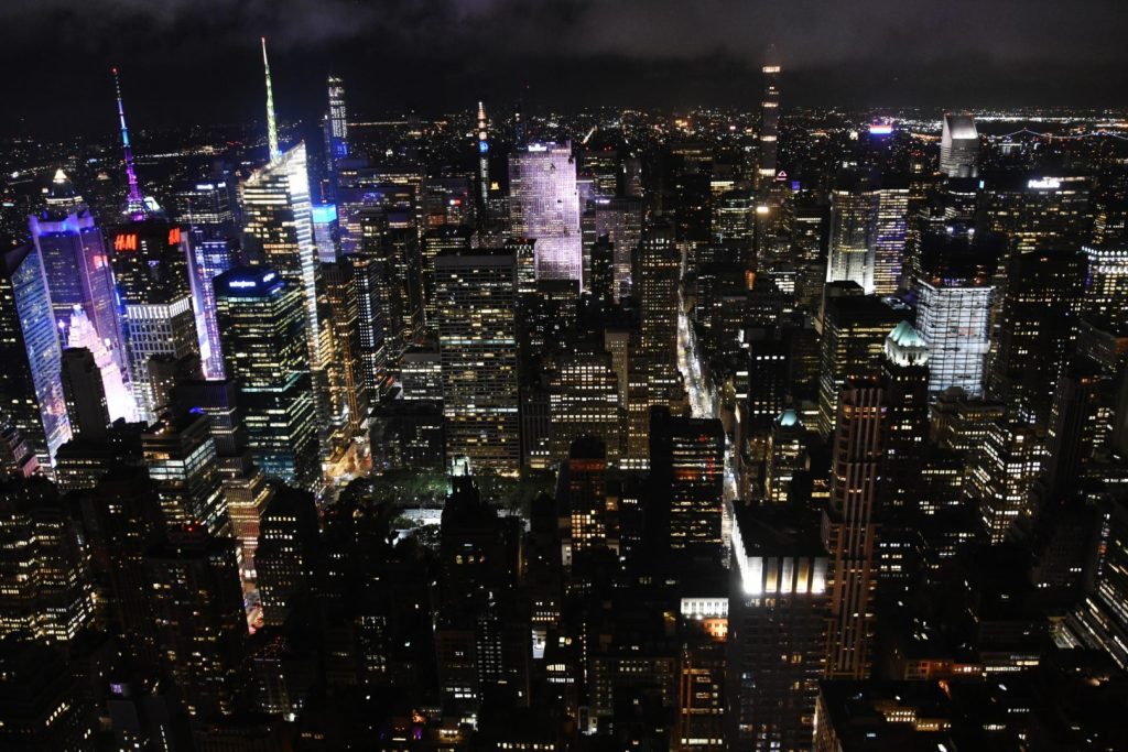Panorma dall'Empire State Building
