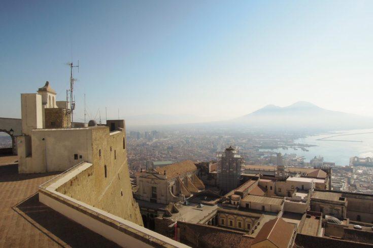 Il vesuvio da Castel Sant'Elmo