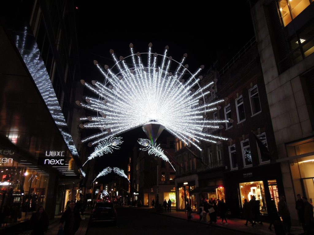 Natale a Bond Street