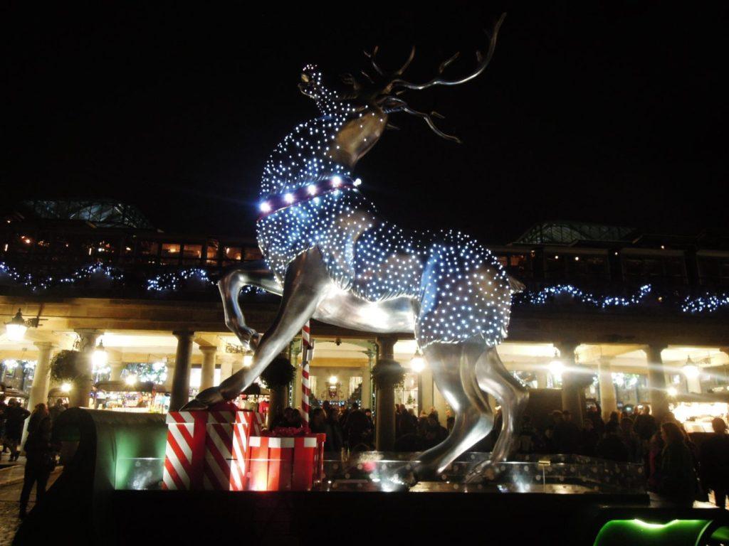 Luci di Natale a Covent Garden