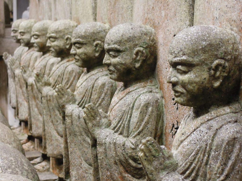 Statue di pietra Daisho-in