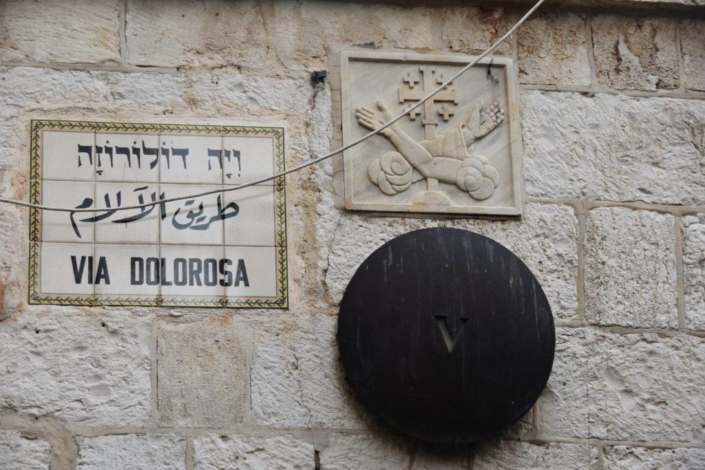 Stazioni della Via Dolorosa a Gerusalemme
