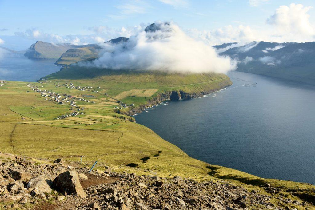 Panorama dal Villingardalsfjall
