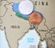 Mappa viaggio tra Nepal e Tibet