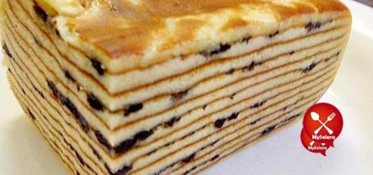 -- Kek Lapis Cheese Oreo