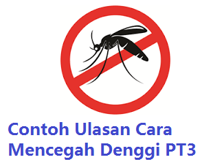 Ulasan Cara Mencegah Denggi PT3