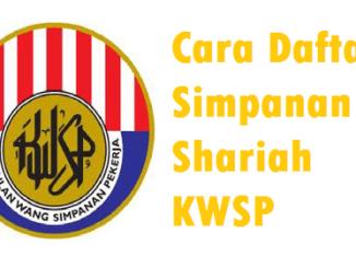 Cara Daftar Simpanan Shariah KWSP