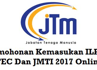 Permohonan Kemasukan ILP, ADTEC Dan JMTI 2017 Online