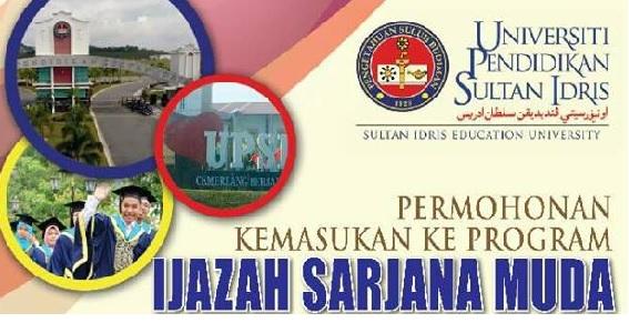 Permohonan UPSI Online Februari 2018