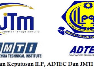 Semakan Keputusan ILP, ADTEC dan JMTI Online