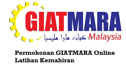 Permohonan GIATMARA Online 2018 Latihan Kemahiran