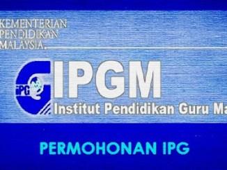 Permohonan PISMP lepasan spm 2018 online