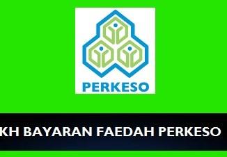 Tarikh Bayaran Faedah PERKESO 2018
