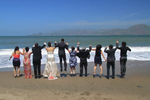 Small, Wedding, Beach