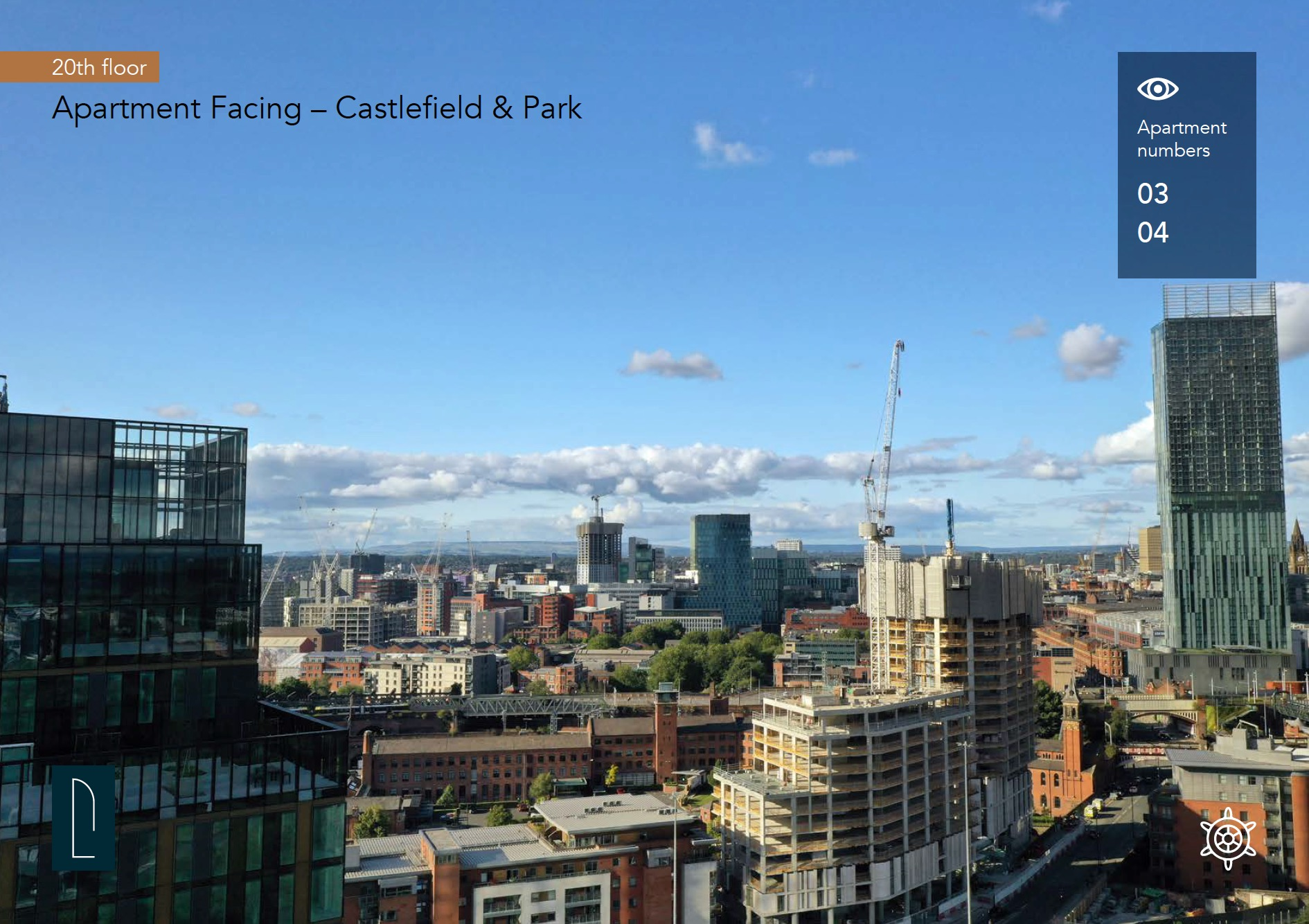 The Blade Manchester View 3