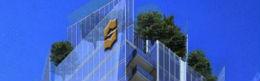 detail photo of the logo at Shangri-La Toronto