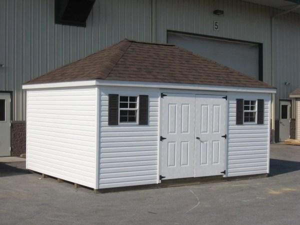 Hip Roof Storage Shed Backyard Sheds