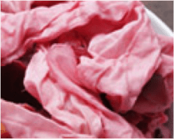 Dyeing pink cloth - Using natural dyes - creative activities - Just Kids - My Sheen Village
