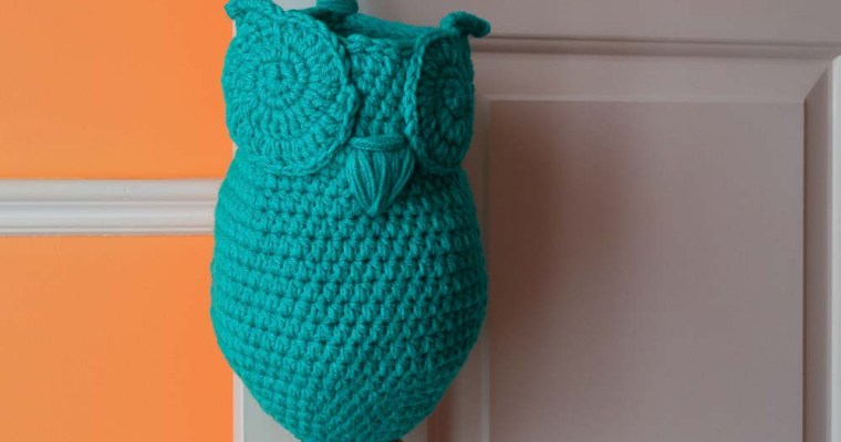 Owl Plastic Grocery Bag Holder