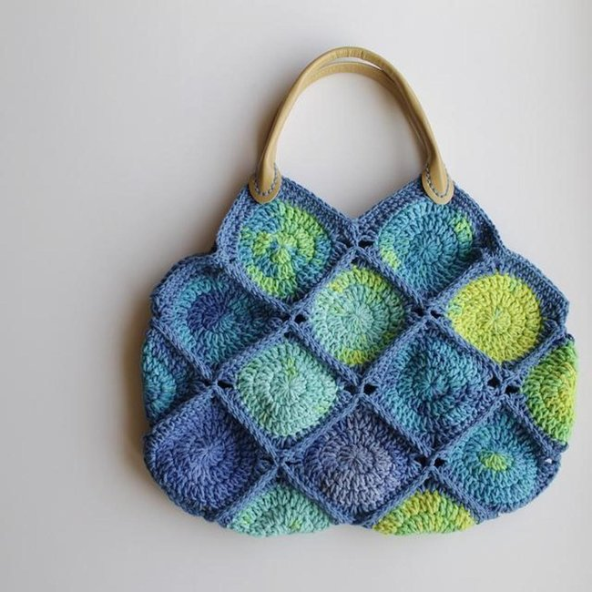 Big Dots Crochet Bag
