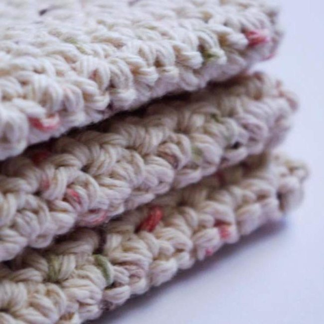 Cotton Washcloths & Dishcloths