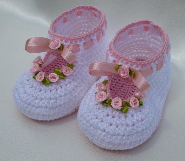 ROSY christening baby set