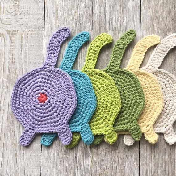 PDF Crochet Cat Coaster Pattern Kitten Pattern Pattern | Etsy | 570x570