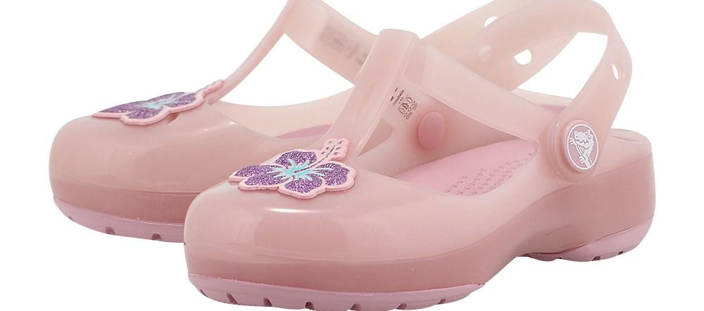 Crocs - Crocs Isabella Clog PS 204034-684 - ΡΟΖ