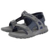 Skechers - Skechers Adjustable Strap Sandal 51874NVCC - μπλε/γκρι
