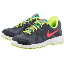 Nike - Nike Revolution 2 554901026-3. - ΓΚΡΙ/ΜΑΥΡΟ