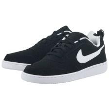 Nike - Nike Court Borough Low 838937-010 - ΜΑΥΡΟ