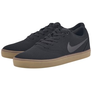 Nike - Nike SB Check Solarsoft Canvas Skateboarding 843896-009 - ΜΑΥΡΟ