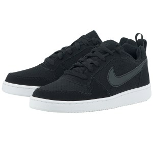 Nike - Nike Court Borough Low 844905-001 - ΜΑΥΡΟ
