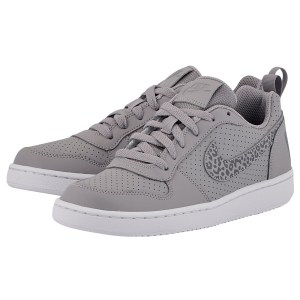 Nike - Nike Court Borough Low (GS) 845104-002 - ΓΚΡΙ