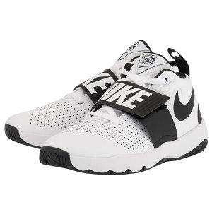 Nike - Nike Team Hustle D 8 (GS) 881941-100 - ΛΕΥΚΟ/ΜΑΥΡΟ
