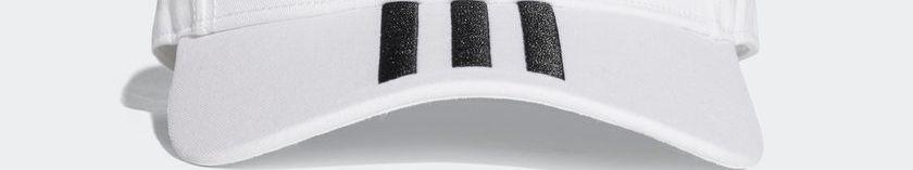 adidas Sport Performance - adidas 6P 3S Cap Cotto BK0806 - ΛΕΥΚΟ