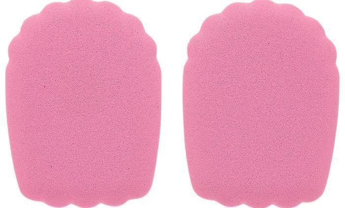 Foot Petals - Haute Heelz BP0010101036 (σετ 2 ζευγών) - ΡΟΖ