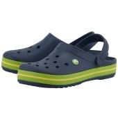 Crocs - Crocs CR11016-4 - ΜΠΛΕ/ΠΡΑΣΙΝΟ image