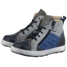 Petit Shoes - Petit Shoes PS-FP71 - ΓΚΡΙ/ΜΑΥΡΟ