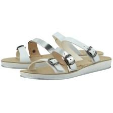 Fantasy Sandals - Fantasy Sandals S-1015 - ΛΕΥΚΟ/ΑΣΗΜΙ