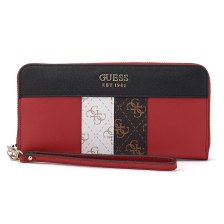 Guess - Guess Katey Slg Large Zip Around SWVS7870460-RML - κοκκινο