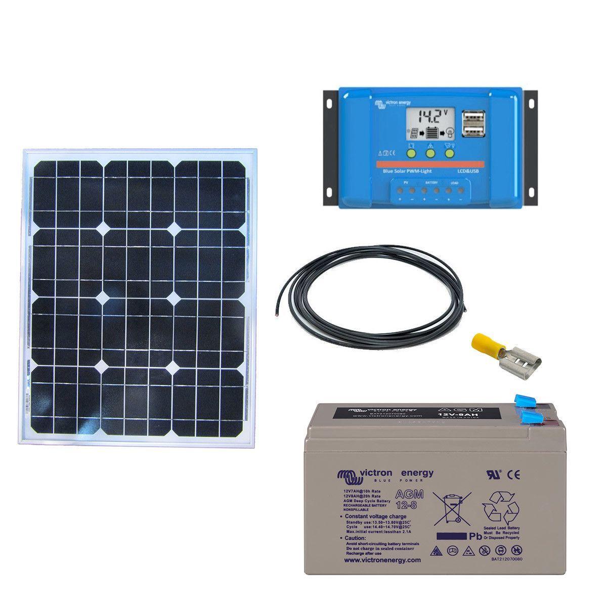 kit solaire 20w autonome 12v